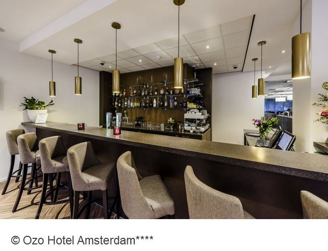 Ozo Hotel Amsterdam Bar
