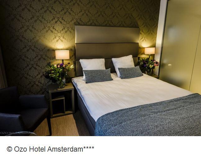 Ozo Hotel Amsterdam Doppelzimmer