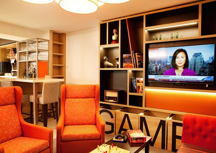 Spieleecke und Sitzbereich Holiday Inn Dresden City South