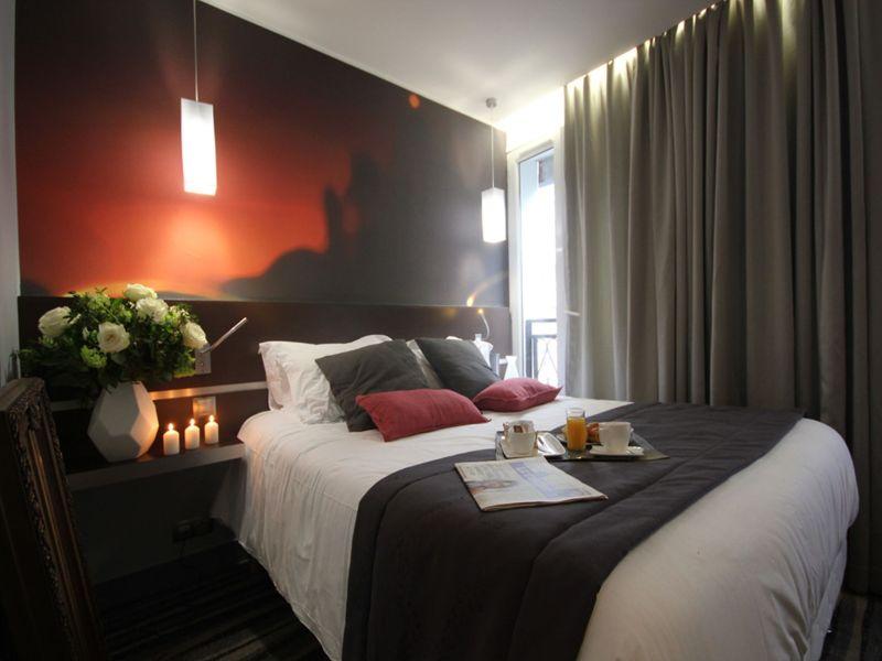 Hotel Lumieres Montmartre Paris Doppelzimmer