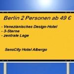 Sens-City Hotel Albergo Berlin