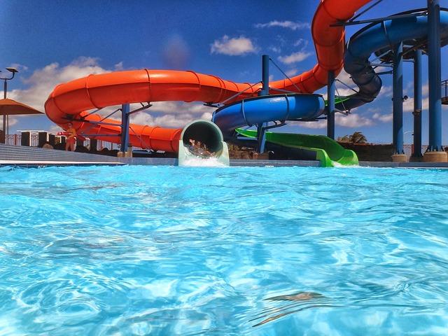 Aquapark Urlaub Wasserrutsche