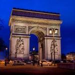 Frankreich Paris Arc de triomphe Triumpfbogen