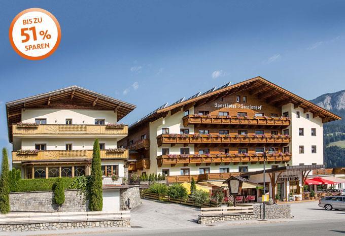 Sporthotel Tirolerhof Aussenansicht