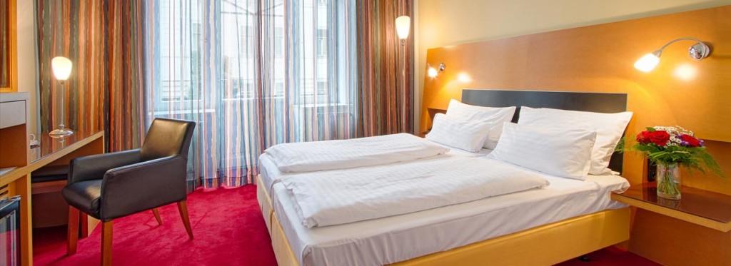 Hotel Theatrino Prag Doppelzimmer