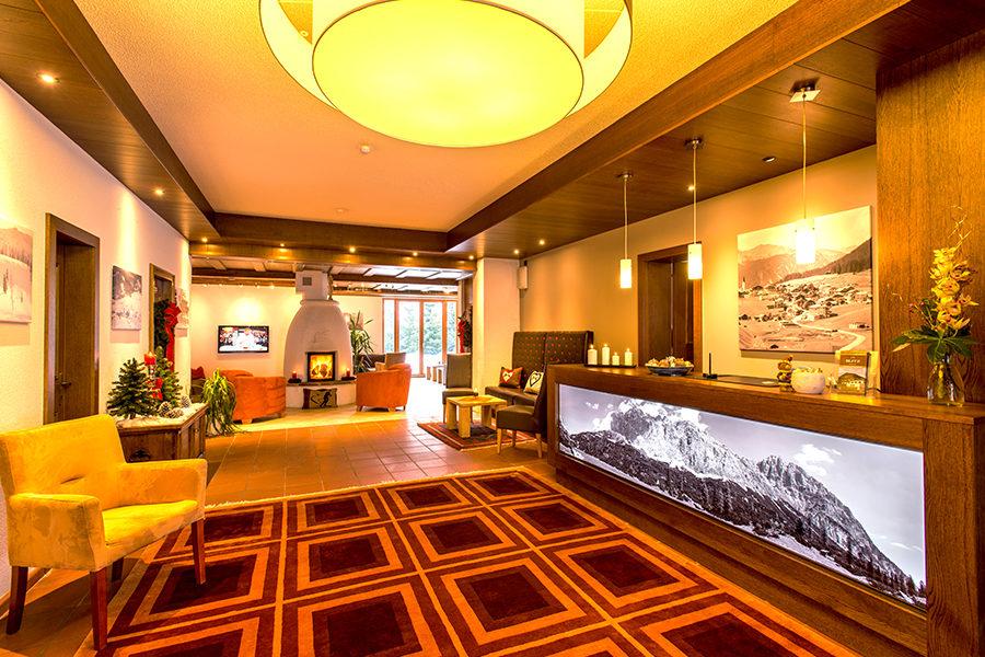 Hotel Blitz Berwang Zugspitz Arena Empfang