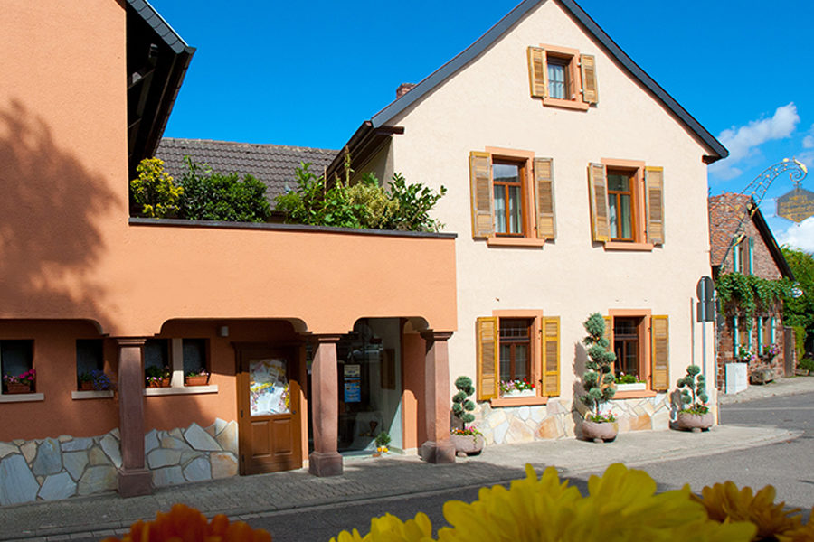Pfalzhotel Asselheim Aussenansicht
