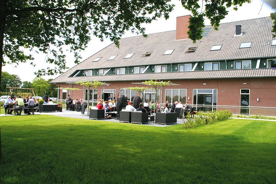 Wellness Hotel Huis ten Wolde Terasse