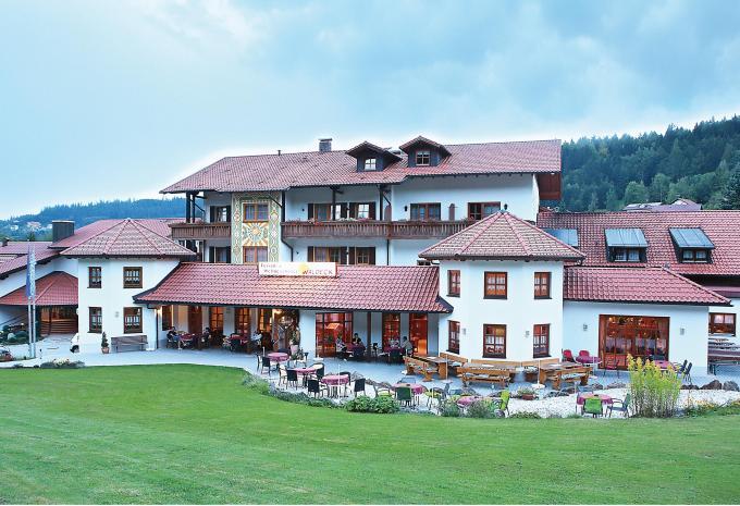 Wellness Hotel Waldeck Bodenmais Aussenansicht