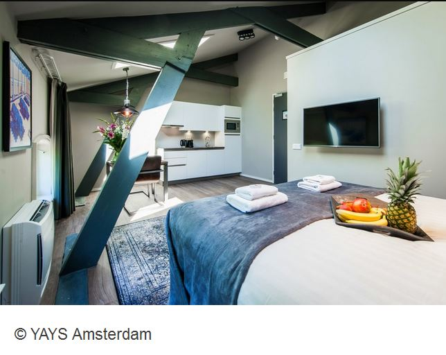 YAYS Concierged Boutique Apartments Zimmer