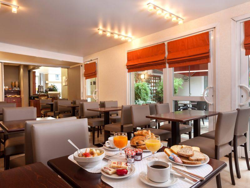 Frühstück Cassics Hotel Parc Expositions Paris