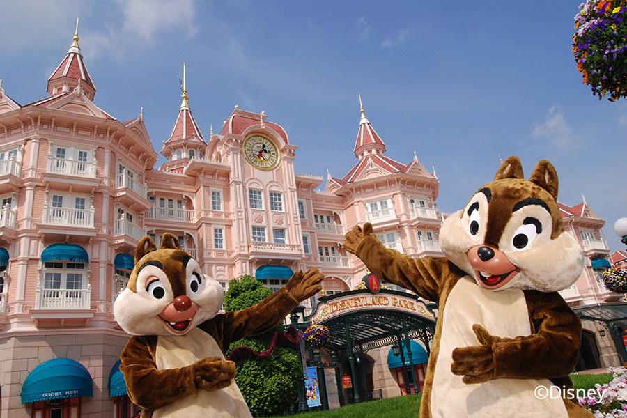 Disney Land Paris Eingang