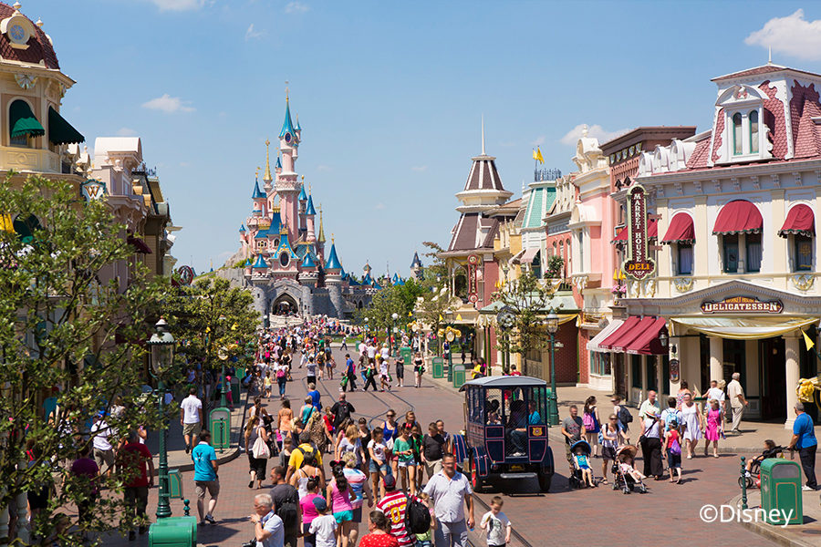 Disney Land Paris Schloss Main Street