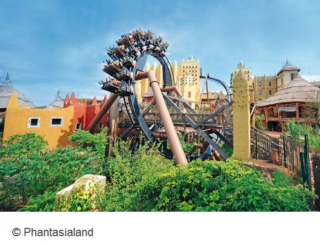 Phantasialand Brühl Deal Black Mamba