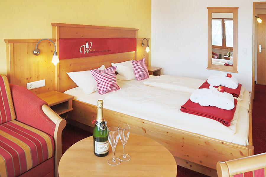 Hotel Wiedener Eck Schwarzwald Doppelzimmer