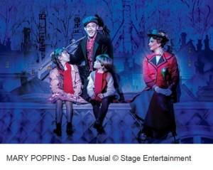 Mary Deal Poppins Musical Stuttgart und Hotel