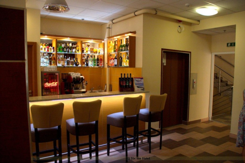 Six Iinn Hotel Budapest Ungarn Bar