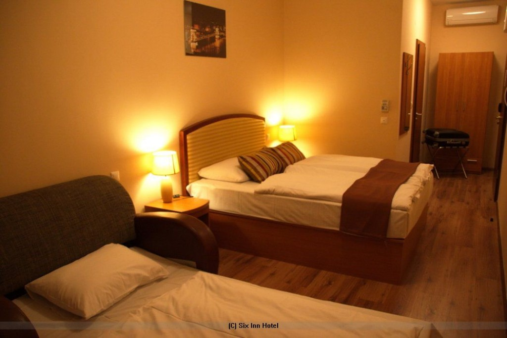 Six Iinn Hotel Budapest Ungarn Zimmer