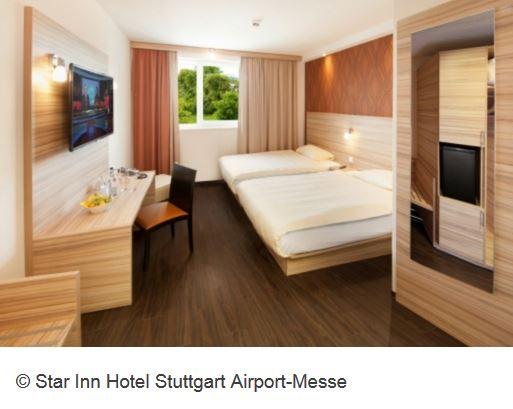 Star Inn Hotel Stuttgart Aiport Zimmer