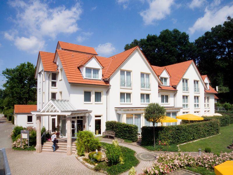 Aussenansicht Hotel Leugermann Ibbenbueren Teutoburger Wald