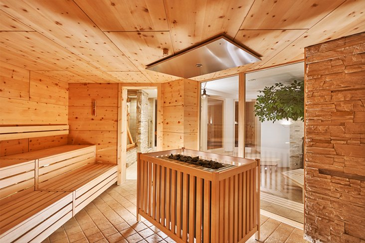 Sauna, Dampfbad im Restaurant Wellness Hotel Schreiber Hof München Aschheim