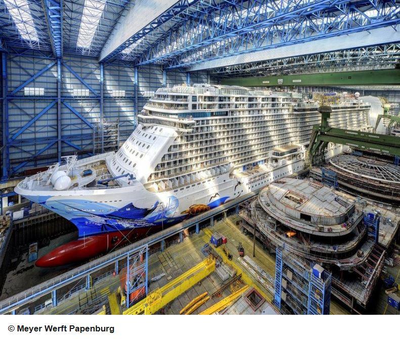Meyer Werft Papenburg Besichtigung