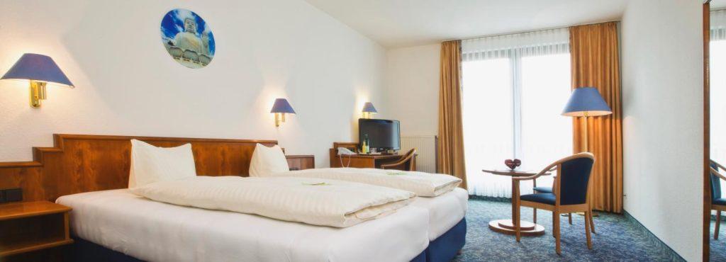 Alpina Lodge Hotel Oberwiesenthal Erzgebirge Doppelzimmer