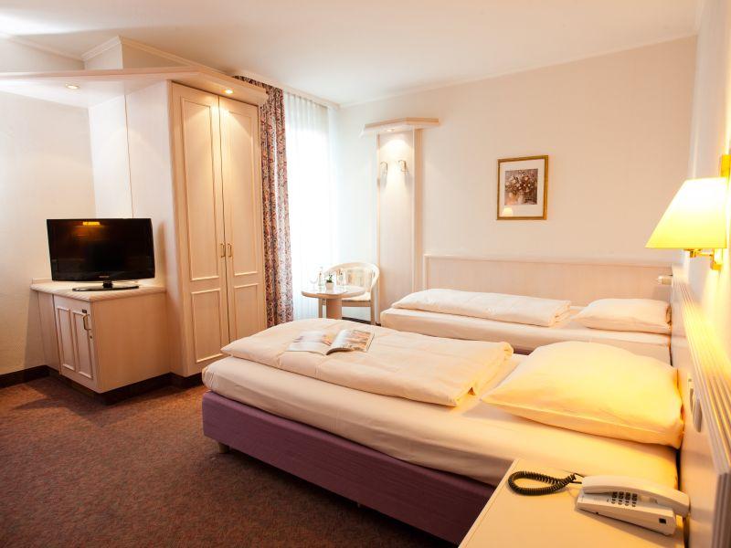 Doppelzimmer Hotel Traube Rüdesheim am Rhein