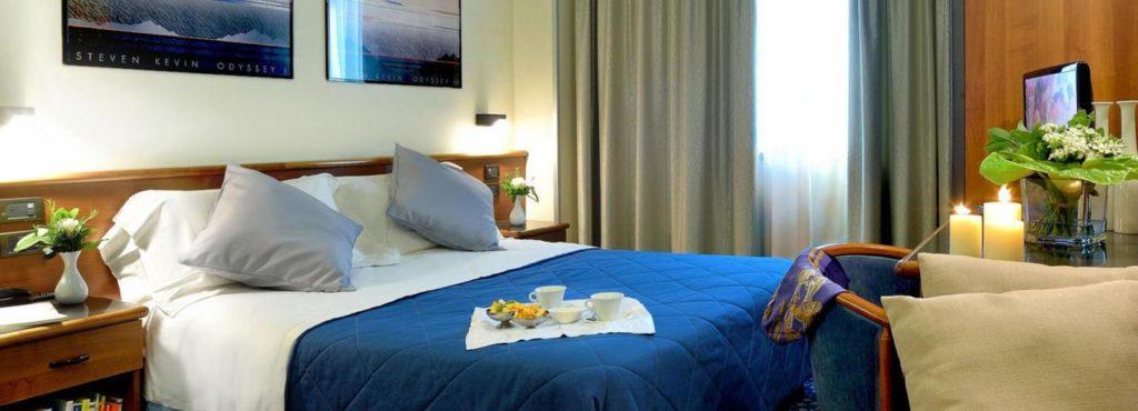 Doppelzimmer Beispiel im Sporting Hotel Gubbio