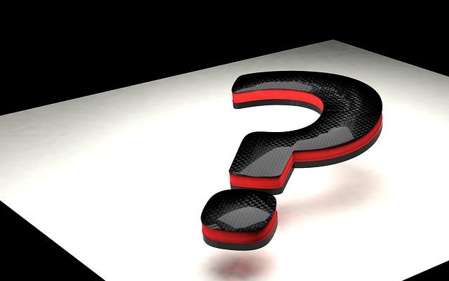 Fragezeichen Rätsel