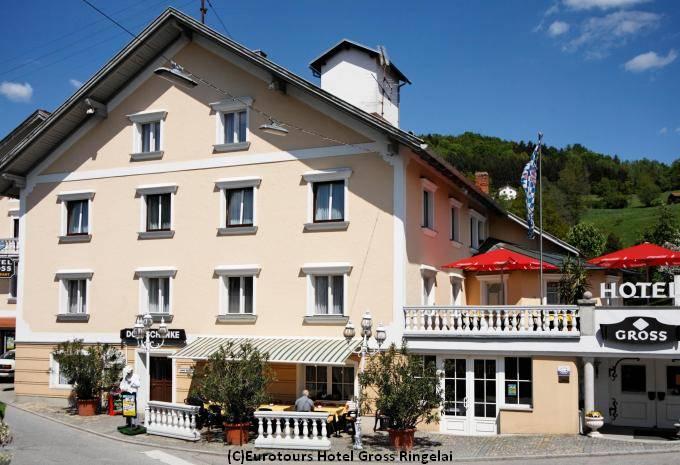 Aussenansicht Hotel Gross Ringelai Bayerischer Walt