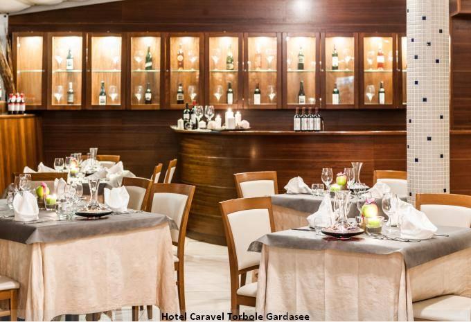 Restaurant Hotel Caravel Torbole Gardasee Angebot
