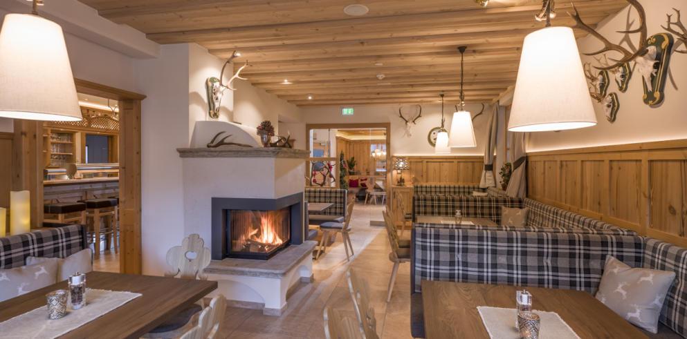 Restaurant im Hotel Kirchberger Hof Tirol Österreich