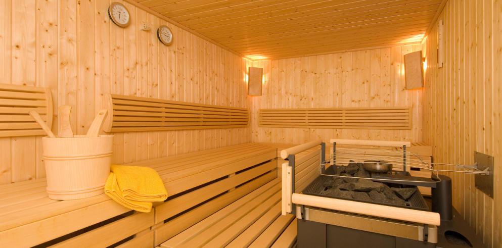 Sauna im Hotel Kirchberger Hof Tirol Österreich