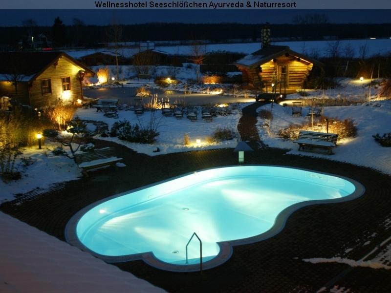 Wellnesshotel Seeschlößchen Senftenberg Wellnessgarten