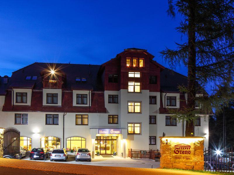 Aussenansicht vom Greno Hotel & Spa Karpacz Polen