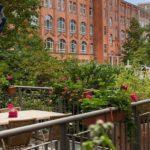 Innenhof Terasse Victor's Residenz Hotel Berlin Tegel