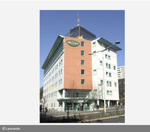 Aussenansicht des Hotel Mister Bed City de Bagnolet Paris Frankreich