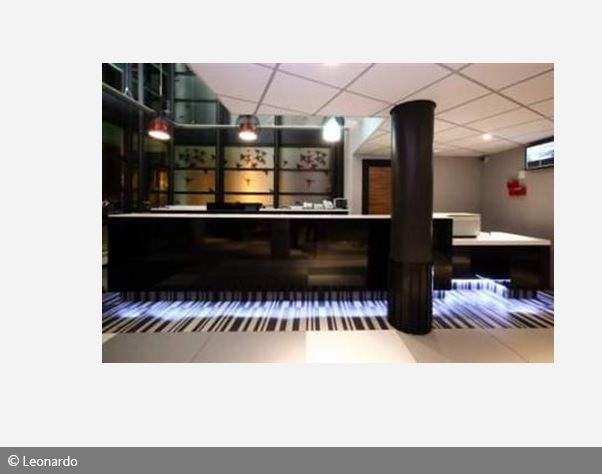 Rezeption Empfang vom Mister Bed City de Bagnolet Hotel Paris