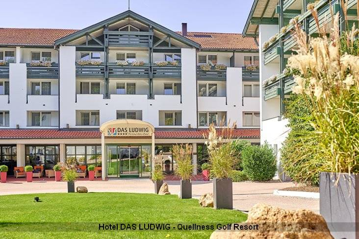 Aussenansicht Superior Hotel DAS LUDWIG - Quellness Golf Resort