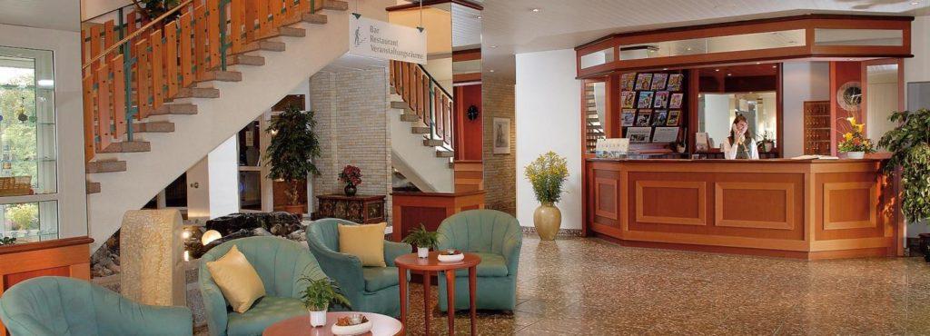 freundlicher Empfang im Werrapark Resort Hotel Frankenblick