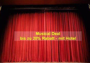 Musical im Deal -20% Aktionspreis mit Hotel