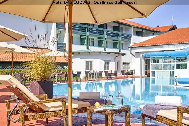 Pool Superior Hotel DAS LUDWIG - Quellness Golf Resort