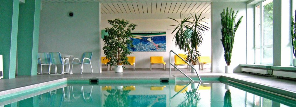 Hallenbad Werrapark Resort Hotel Frankenblick