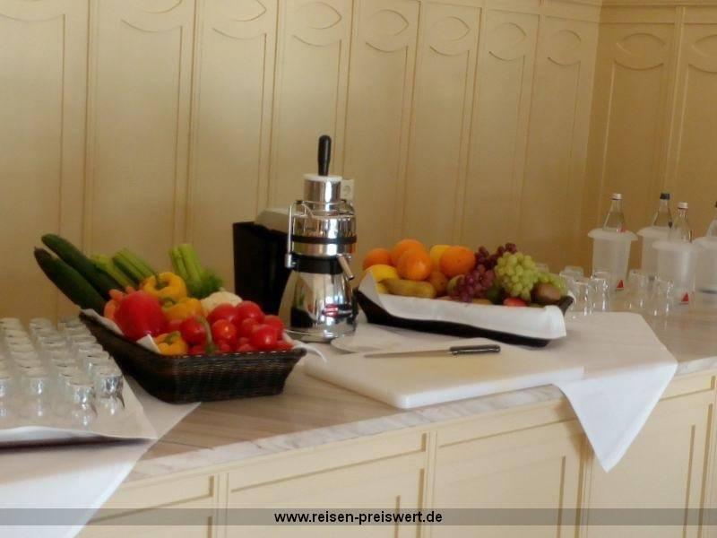 Obst und Gemüse im Hotel Badehof Bad Salzschlirf