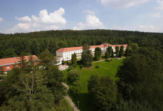 Aussenansicht des Hotel am Burgholz in Tabarz