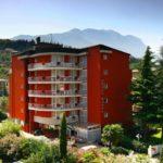 Aussanansicht des Hotel Royal in Riva del Garda