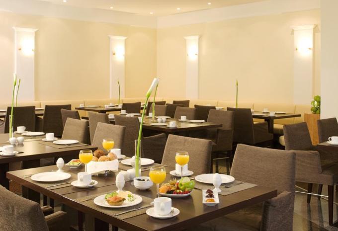 Frühstück im NH Forsthaus Fürth Nürnberg