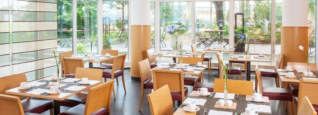 NH Hotel Berlin Treptow - Frühstücksraum