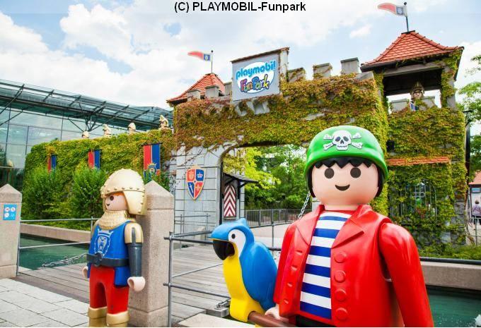 (C) PLAYMOBIL-Funpark 1 Tag im Deal mit Hotel